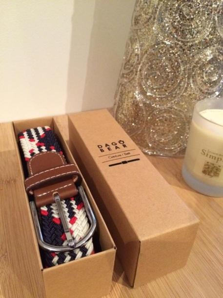 Dagobear, ceinture, cadeau homme, blogger mode homme
